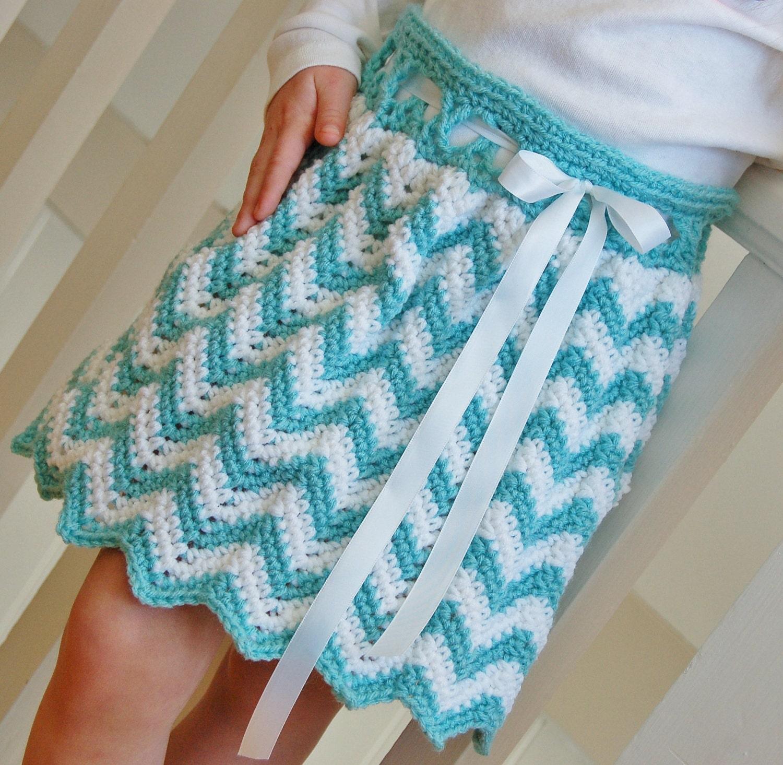 Crochet Pattern Skirt : Crochet Pattern: Chasing Chevrons Skirt by ...