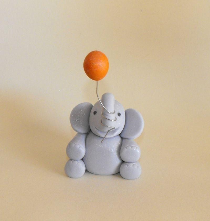 Circus elephant cake topper - photo#4