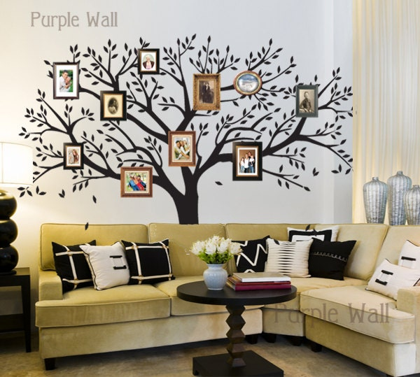 Items Similar To Tree Wall Decals Family Photo Tree Decal