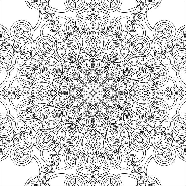 starburst coloring pages - photo#5