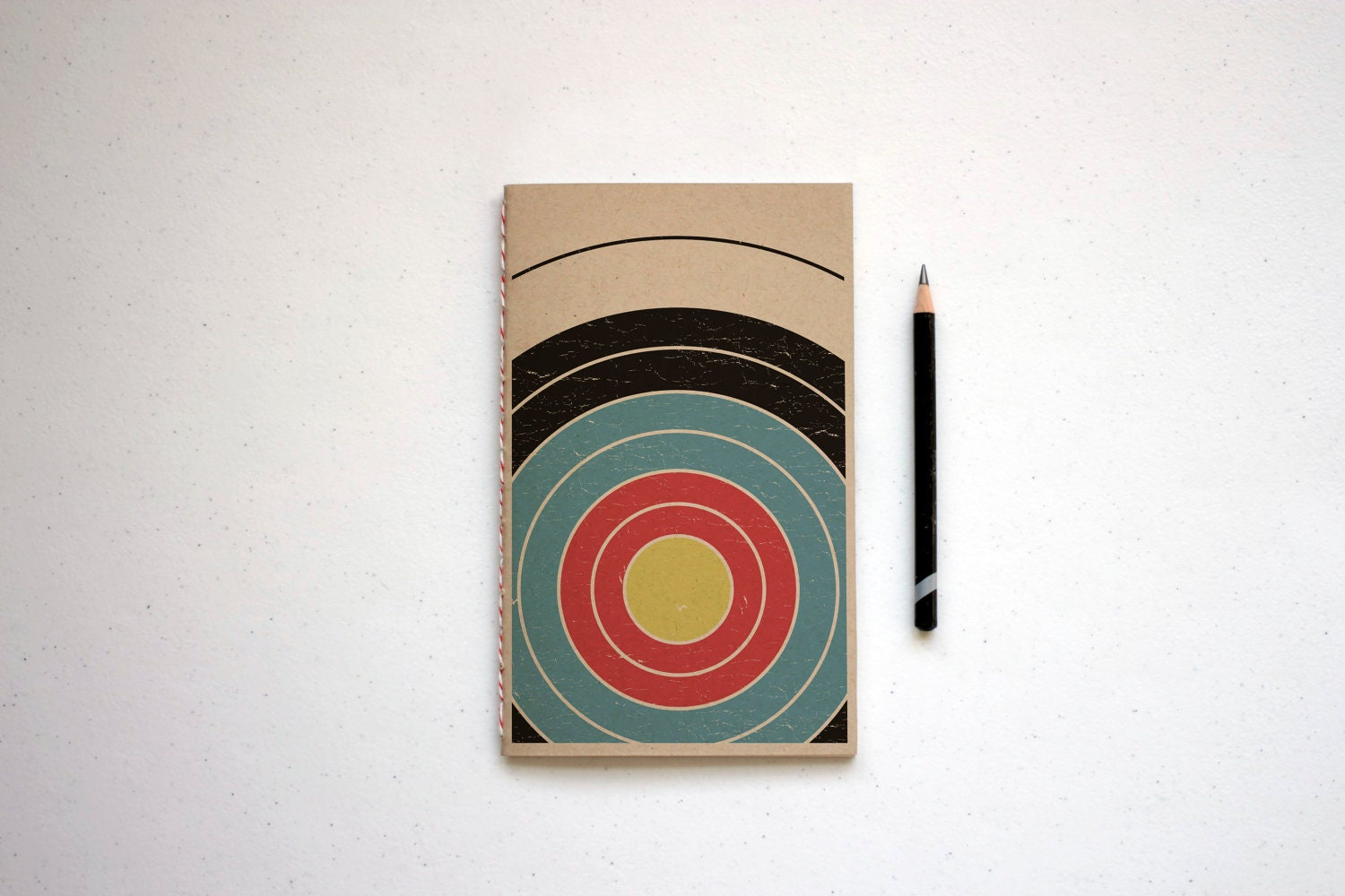Handcrafted Journal, Notebook, Sketch Book, Recycled, Geometric Patterns - choicecuts