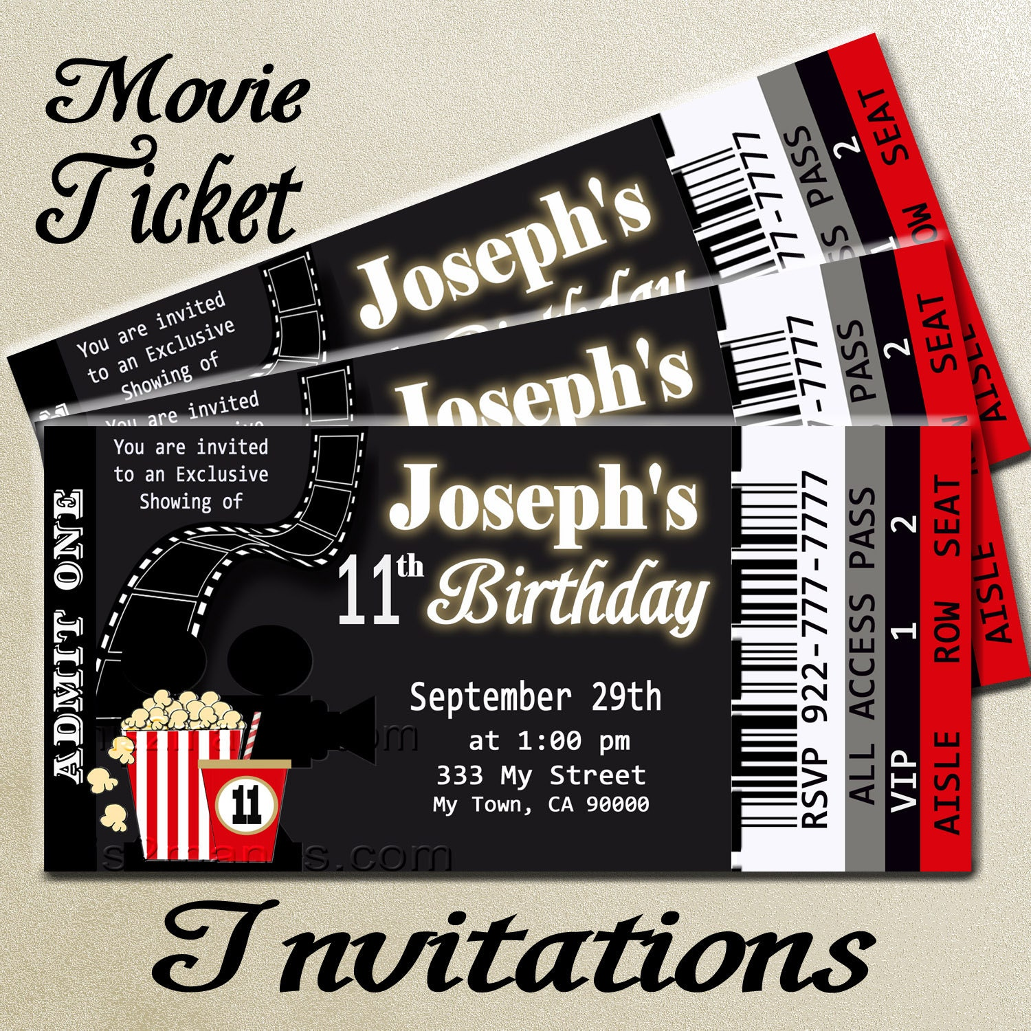 Hollywood Party Invitations for your inspiration to make invitation template look beautiful