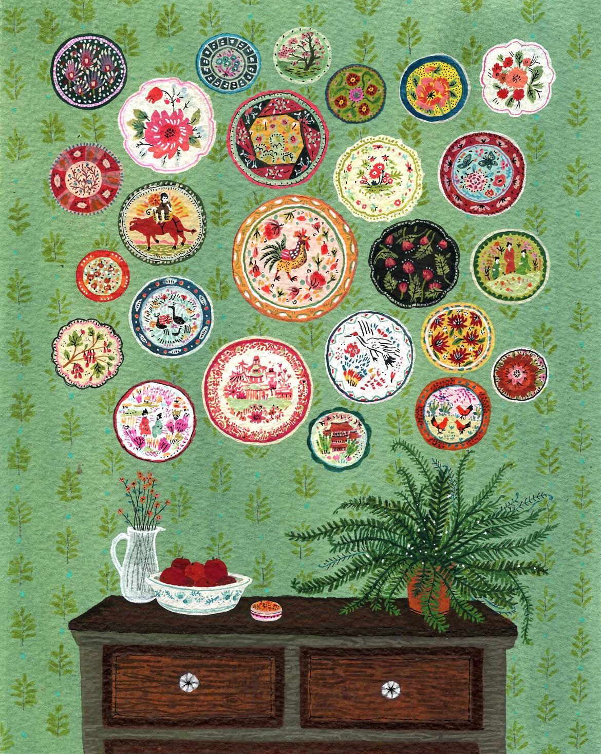 Plate Collection - beccastadtlander