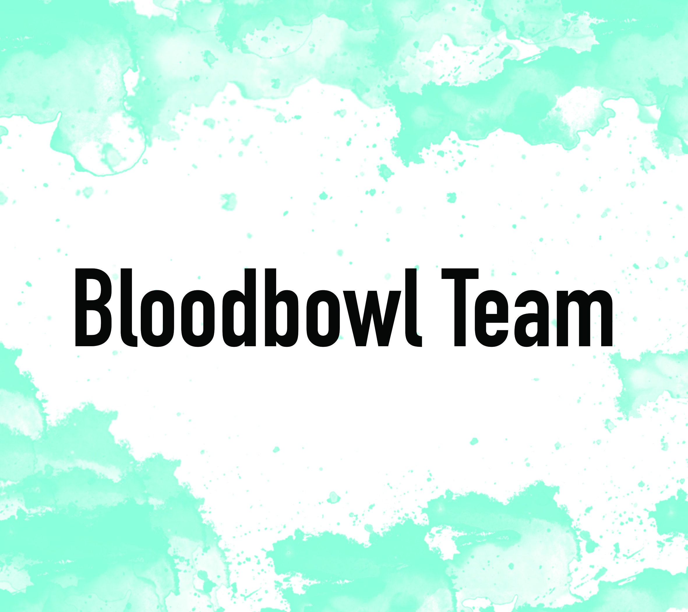 Bloodbowl Team Warhammer Fantasy Football Citadel Miniatures Games Workshop Board Game