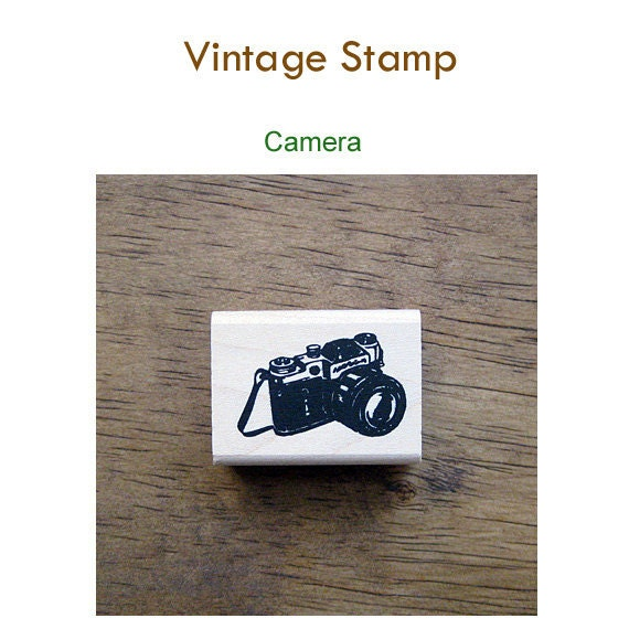 Vintage style rubber stamps