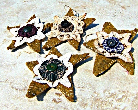 Christmas Ornament Primitive Star Ornament handmade Star ornament Direct Checkout Black Friday Etsy - Lusmysticjewels