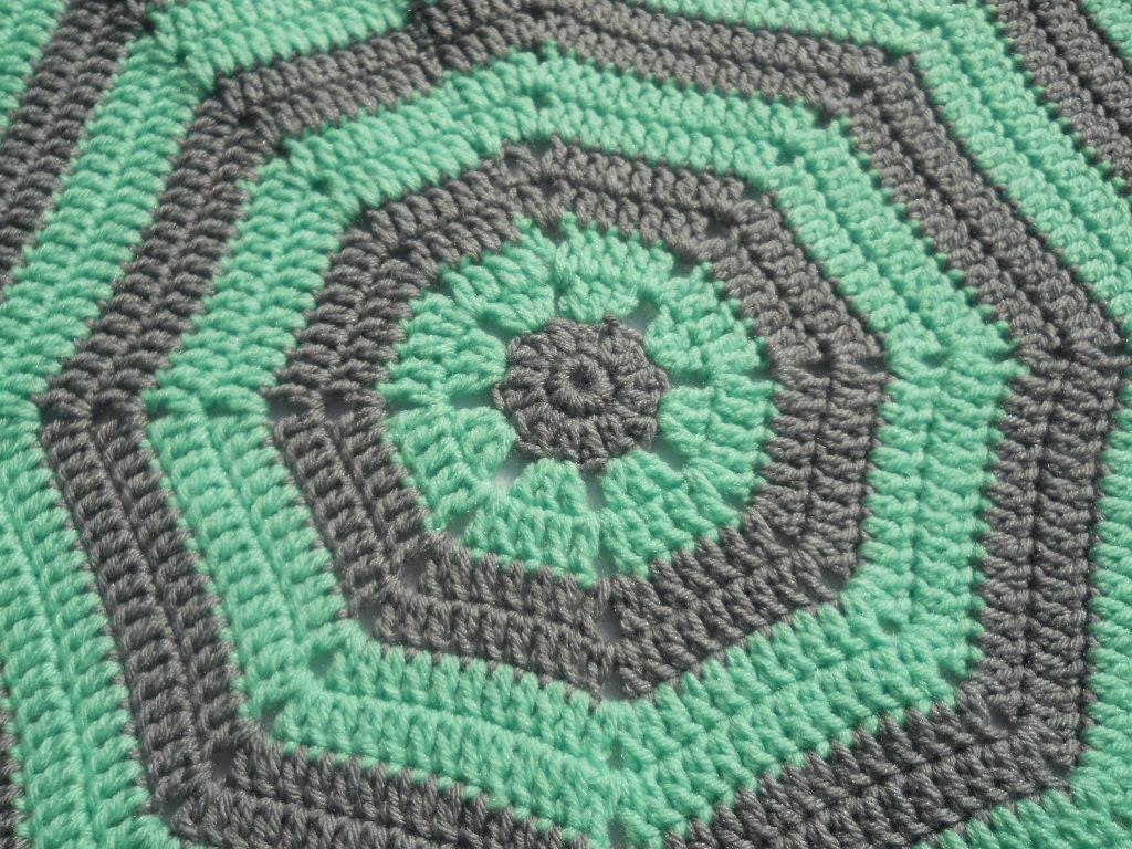 Octagon Baby Afghan Crochet Pattern : Unavailable Listing on Etsy