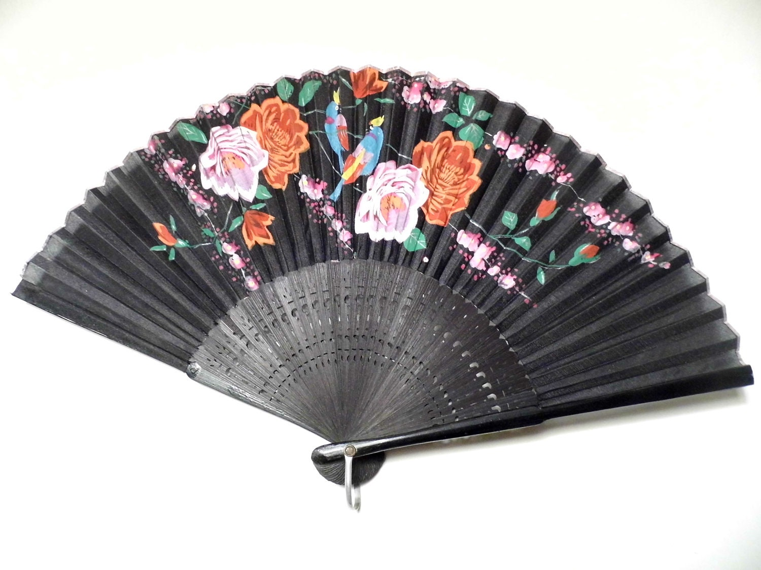 vintage hand fan