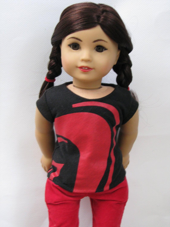 american girl doll top: arc