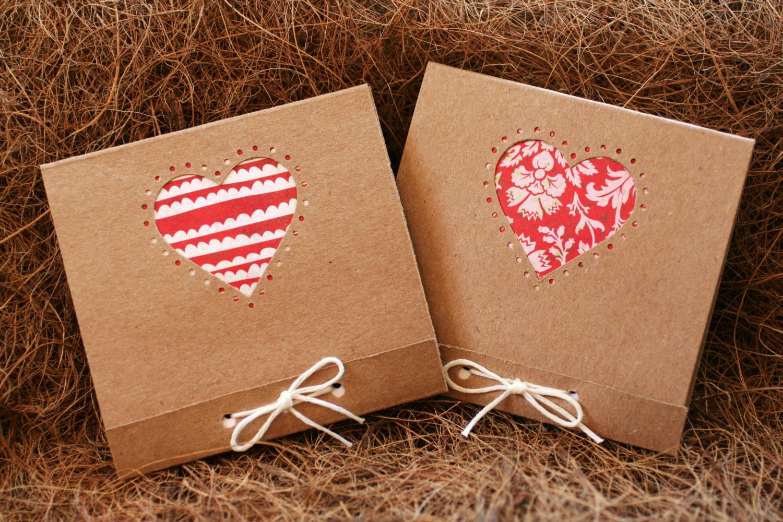 heart mini notepad