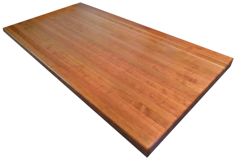 american cherry butcher block countertop by armaniwoodworking