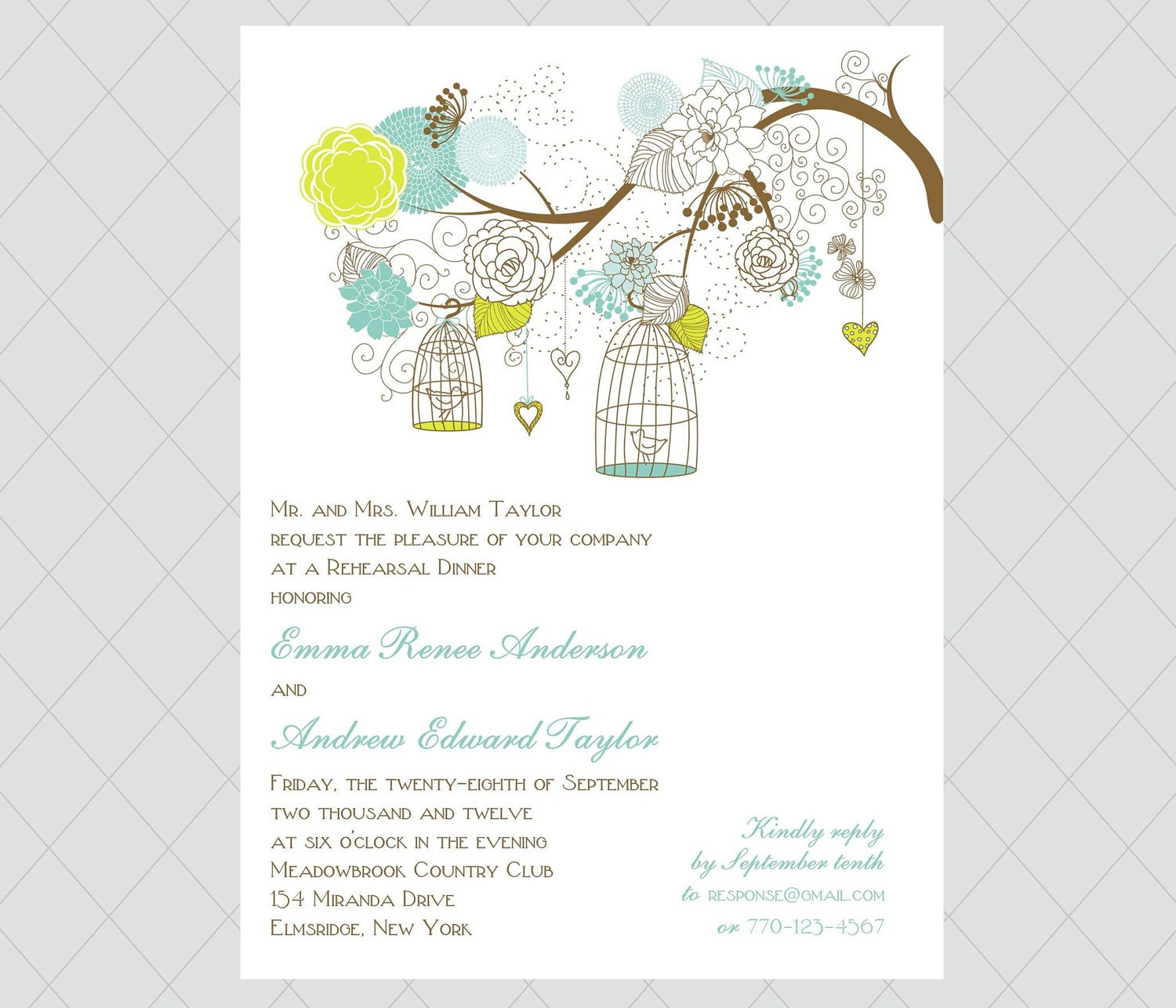 Rehearsal Dinner Invitations Etsy absolutely amazing ideas for your invitation example