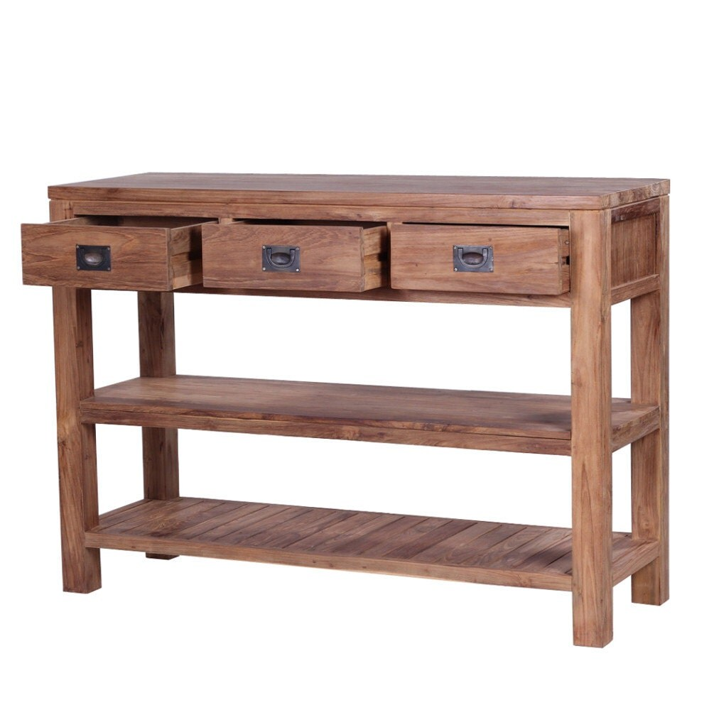 Tanjung Reclaimed Wood Console Table. Stunning ethical ecofriendly with free delivery!