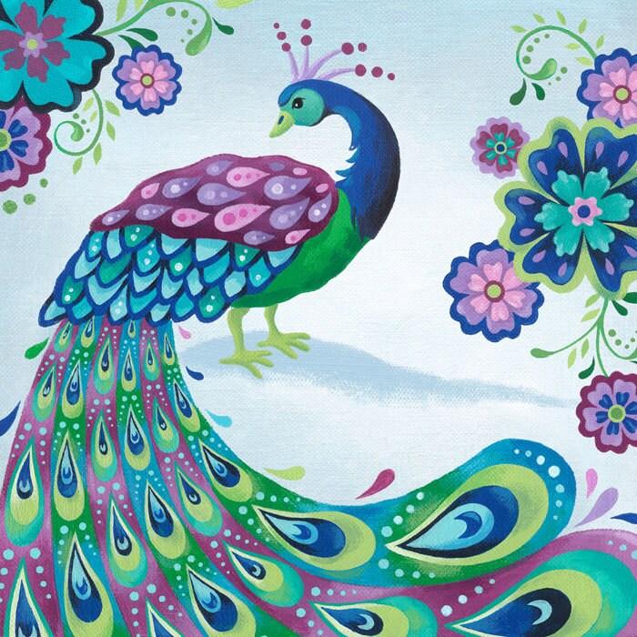 Peacock Dancing Sketch Request a custom order...