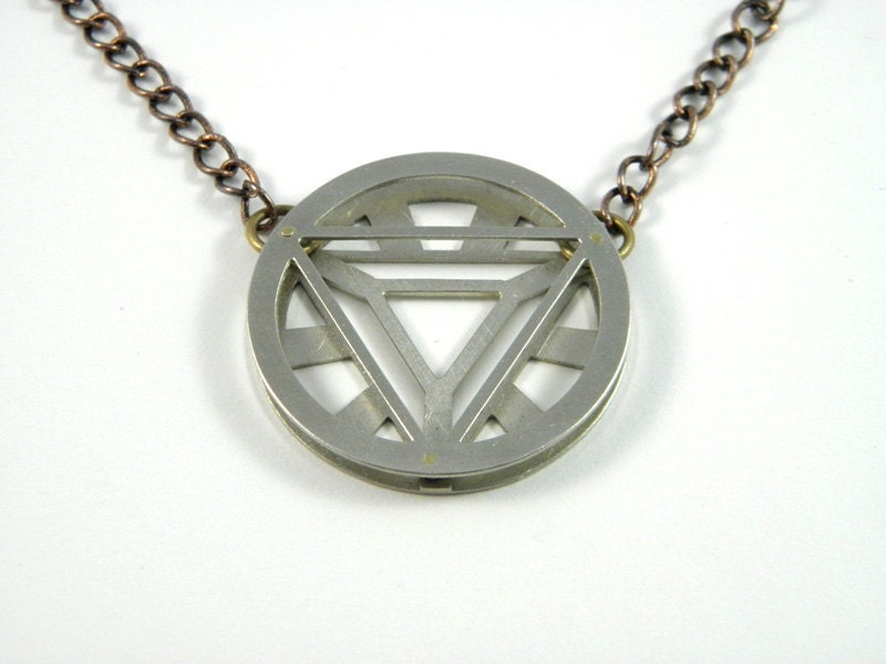 vi arc reactor necklace by markwengryn on etsy