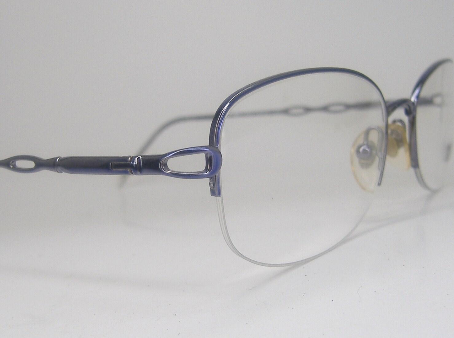 Eyeglasses Frames Purple : Vintage Purple 70s Eyeglasses Eyewear by VintageOpticalFrames