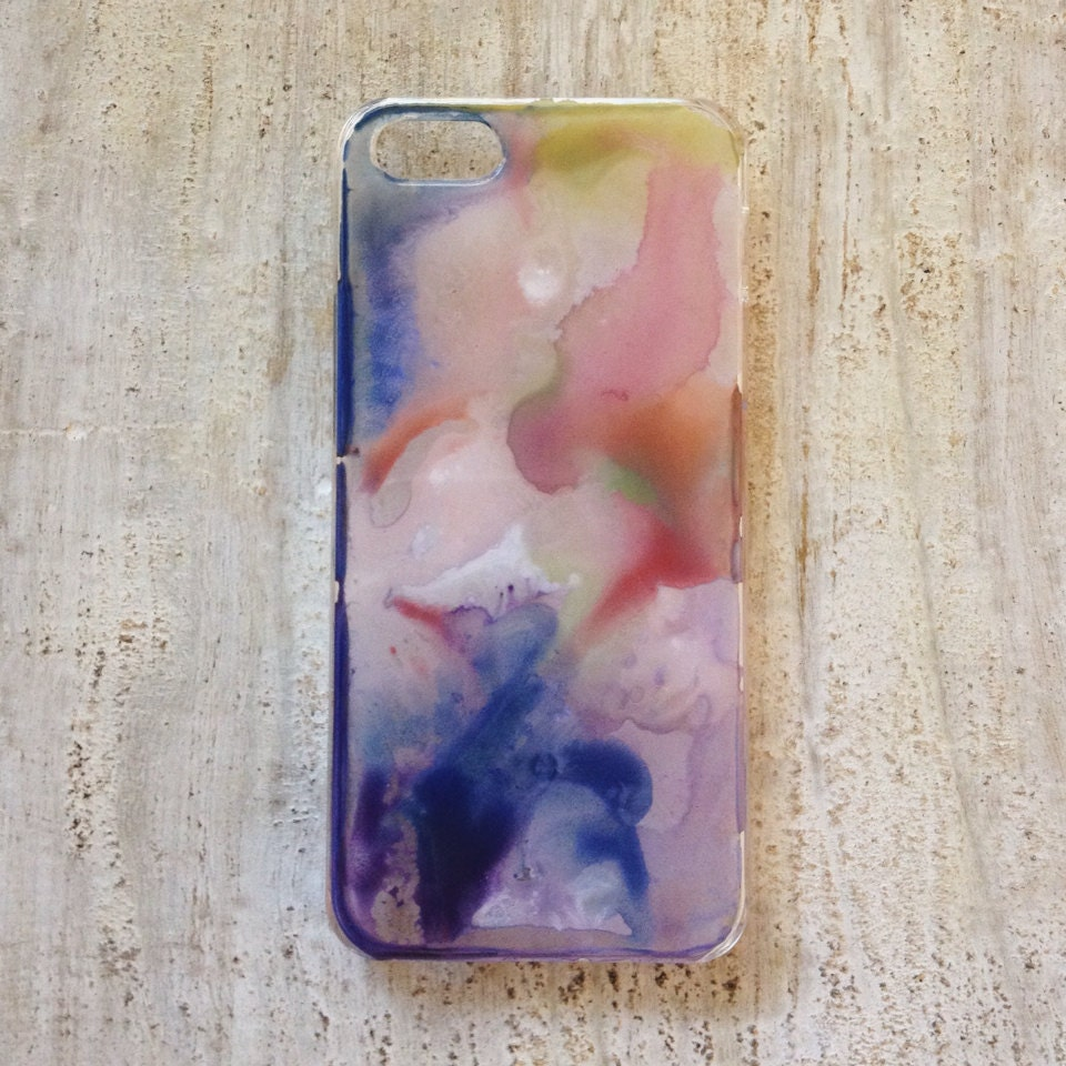 Watercolor Galaxy Design iPhone 5 or 5c Case - AFancyOrAFeeling