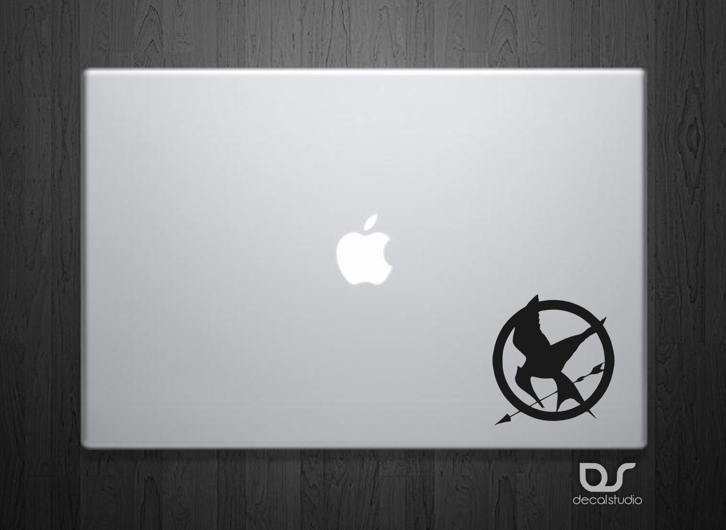 Hunger Games Logo - Hunger Games Decal - MacBook Decal