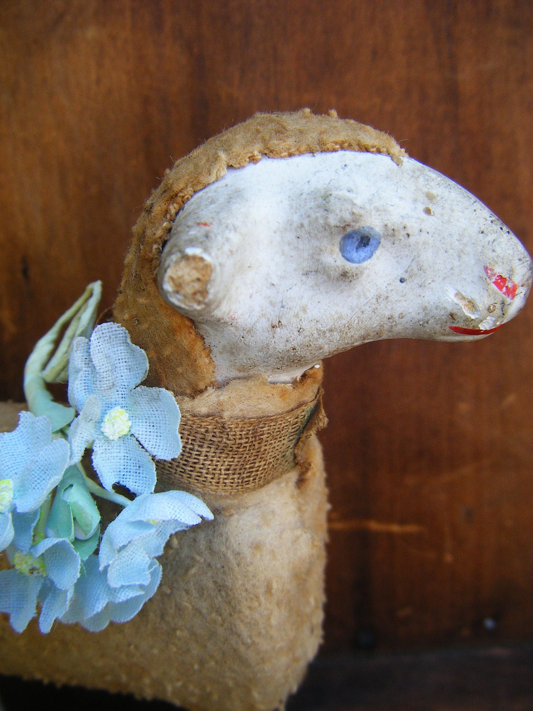 vintage miniature creche n