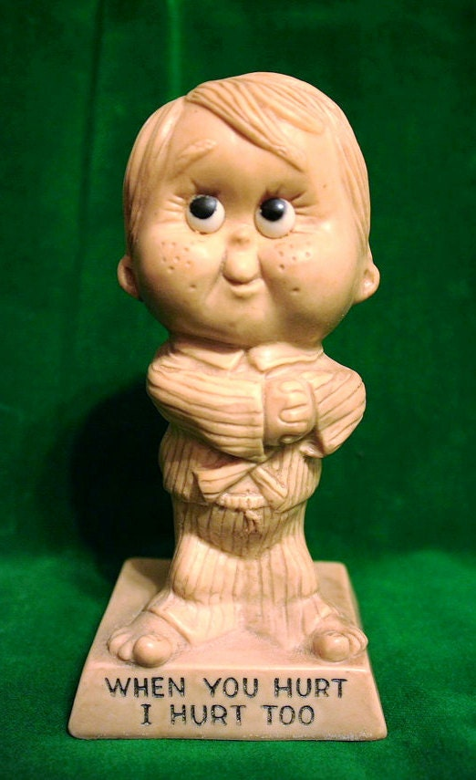 Clearance Item Vintage Child Figurine Home by ThingsYoullLoveNLife