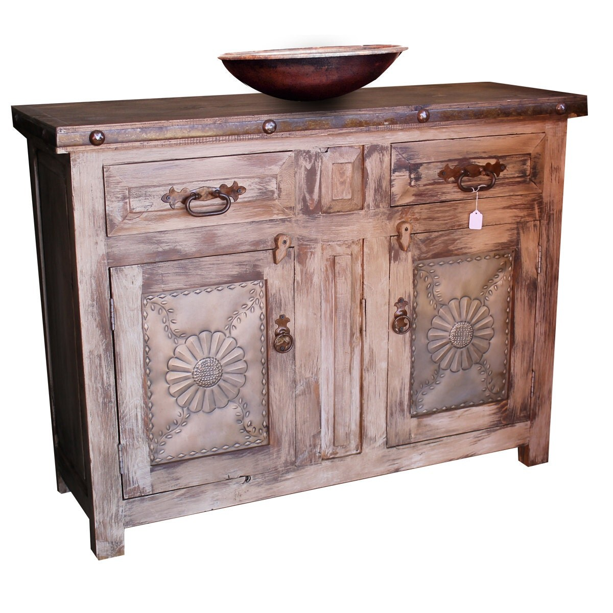 Amazoncom Rustic Reclaimed Wood Nightstand Bedside