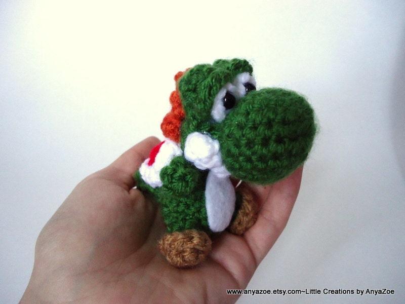 Crochet Yoshi : Items similar to Yoshi Amigurumi on Etsy