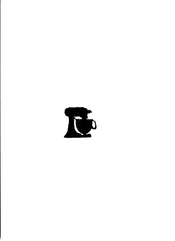 Hand Mixer Silhouette ~ Il xn  notl g