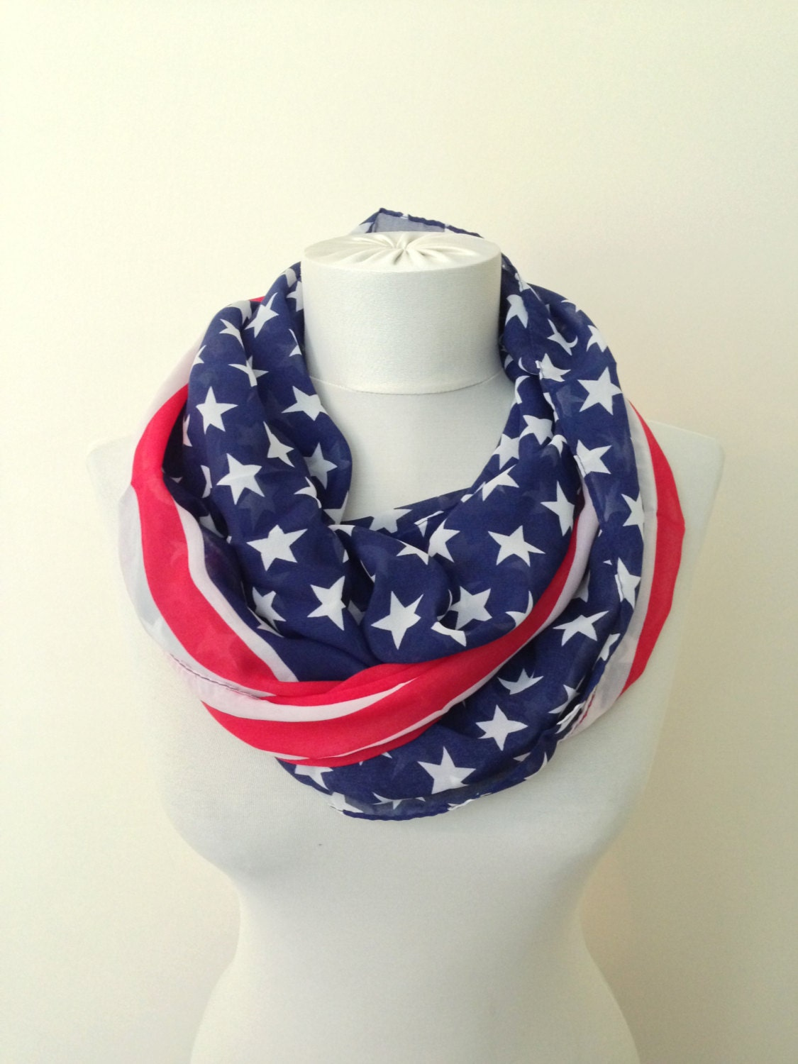 essential scarf scarve scarf patriotic scarf by pitikare