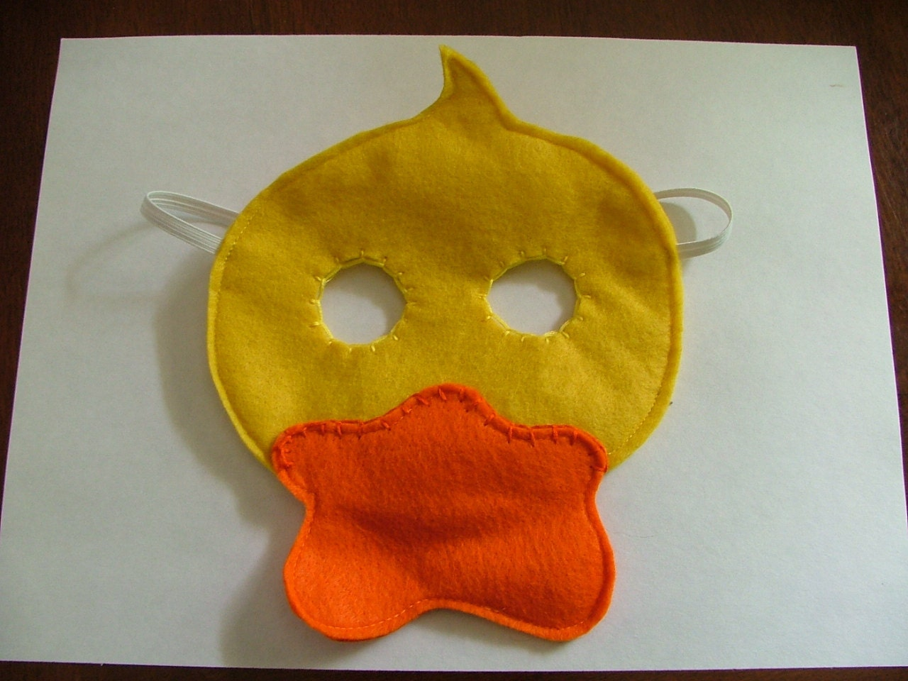 Duck Felt Mask - perfect for pretend play for children
