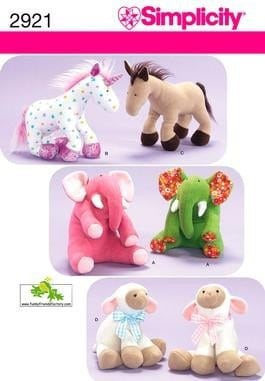 Patterns for Sewing Stuffed Toys - LoveToKnow