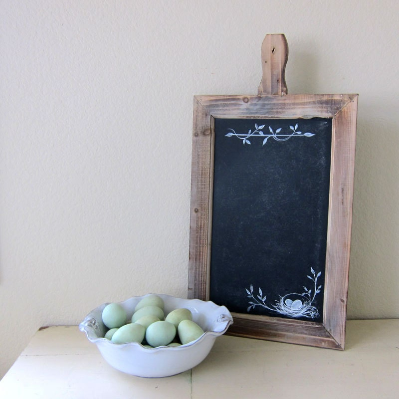 Farmhouse Chalkboard Rustic French Country Hand by Shop ALark