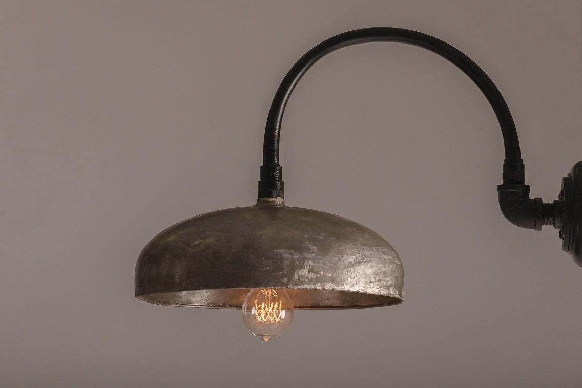 Upcycled industrial lighting - MagratheaStudio
