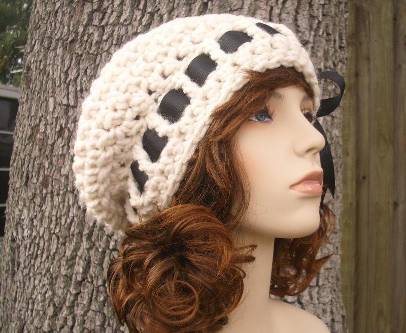 Crochet Pattern - Crochet Hat Pattern PDF for The Escargot Beret Hat - Winter Fashion Winter Accessories