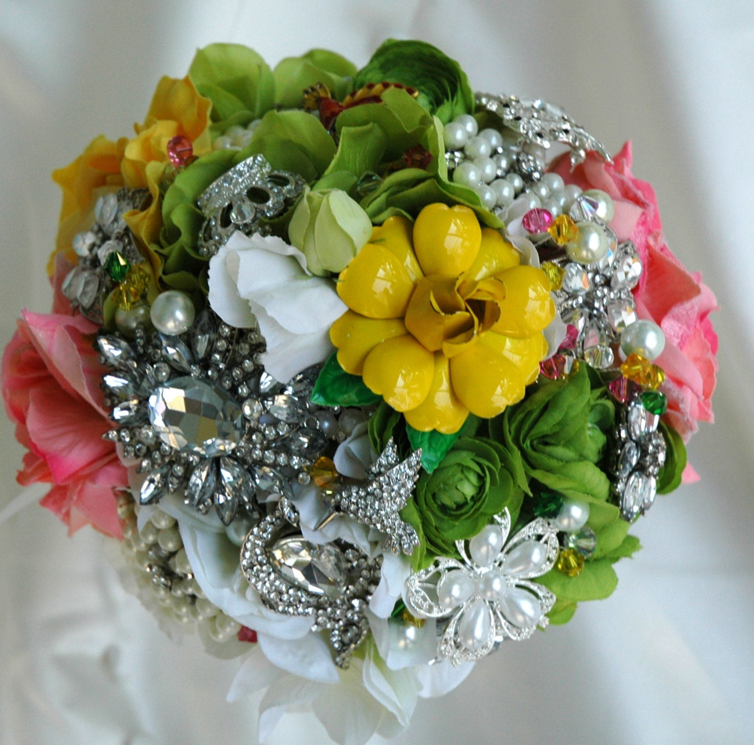 Bridal Bouquet, Wedding bouquet, Garden Wedding Bridal Bouquet, Alternative Bridal Bouquets
