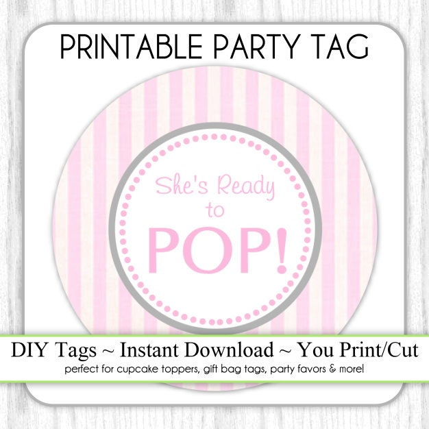 Ready To Pop Printable Template Download