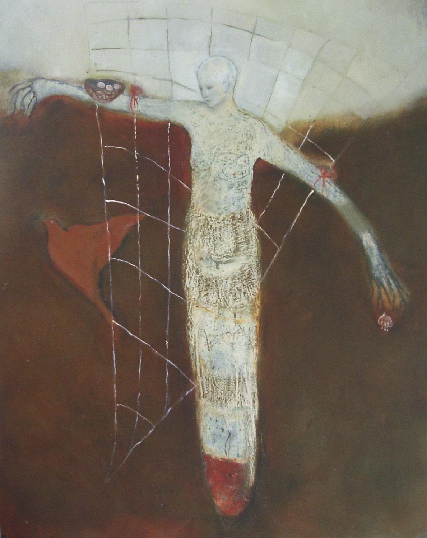 ESPALIER, a 8x10 giclee print from an original painting - EverywomanArt