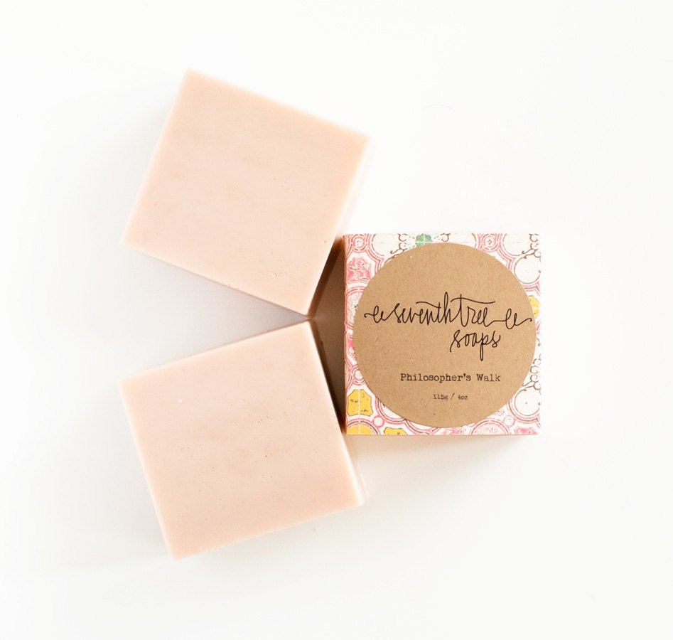Cherry Blossom Soap - Natural, Handmade, Cold Processed, Vegan - seventhtreesoaps