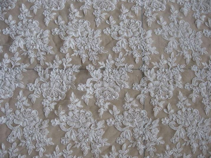 Lace fabric bridal lace fabric wedding gown lace cord lace fabric