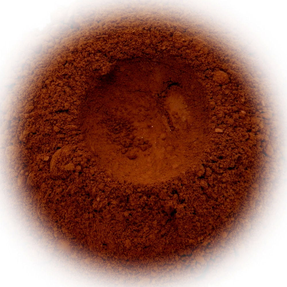 5g Mineral Eye Shadow - Hazelnut - Rich Red Brown With Suede Finish - Rhasdala