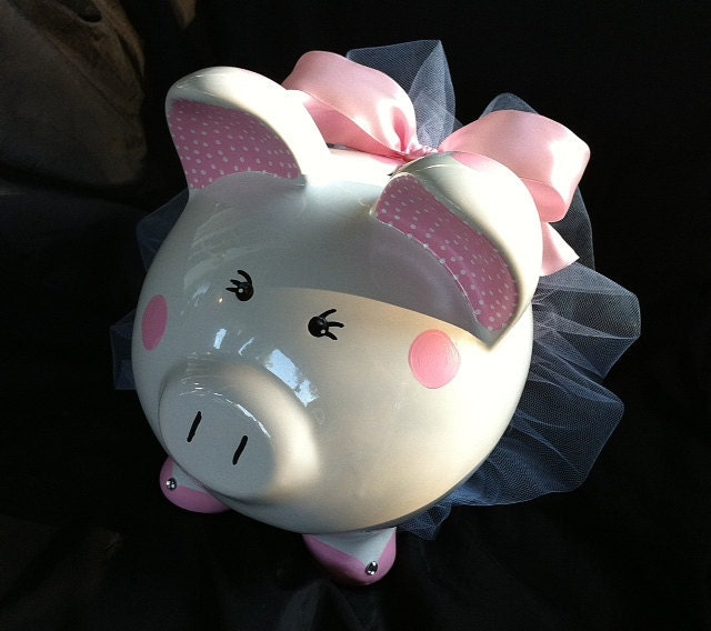 Custom Ballerina Piggy Bank By Jacquelinesmalley On Etsy