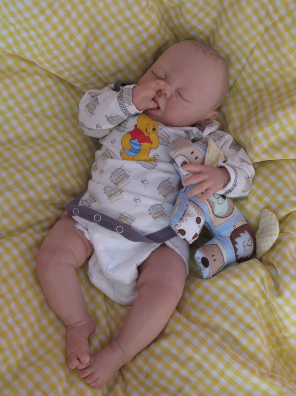 Reborn Baby Boy Heirloom Dollsofie Sculpt By By