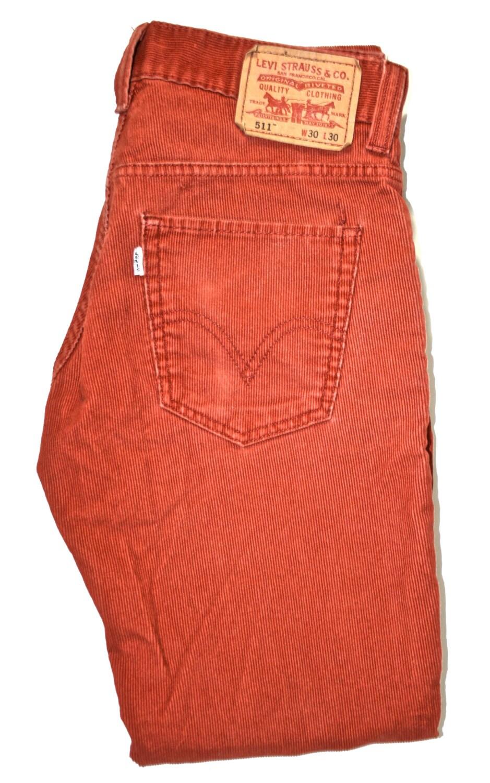 Popular LEVIu0026#39;S LEVIS 505 RBOWN CORDUROY MENS STRAIGHT FIT PANTS | EBay
