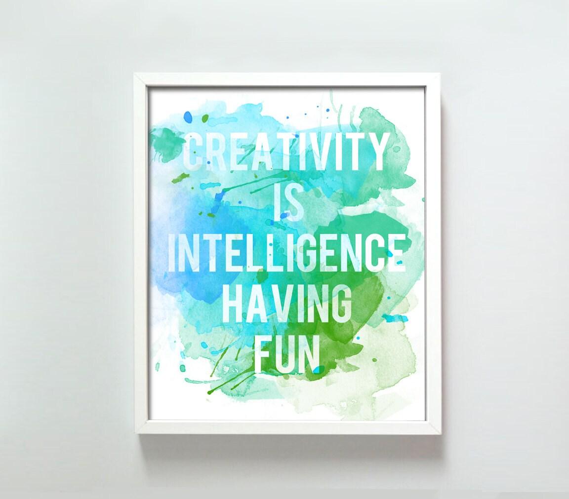 11x14 Creativity print