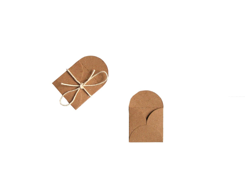 Mini Envelopes Tooth fairy envelope Gift tag by MiniShopLV on Etsy