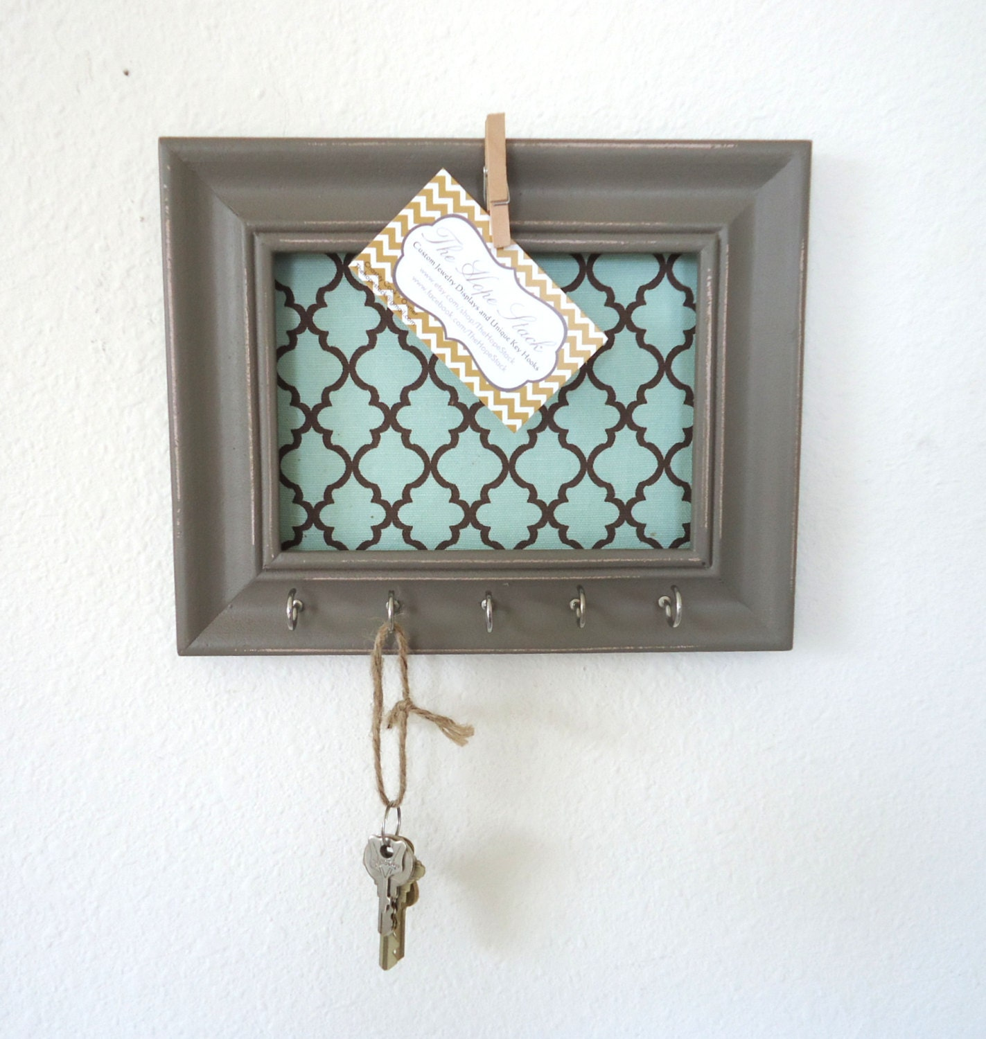 Wall Decor With Key Hooks : Unavailable listing on etsy