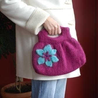 July 2007 Pattern Contest Winner - Slant Pocket Bag by