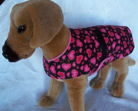 How To Make A Fleece Dog Coat Han Coats