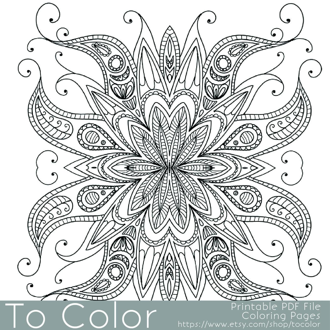Top 10 Printable Gel Pen Coloring Sheets 2019 Kini Coloring