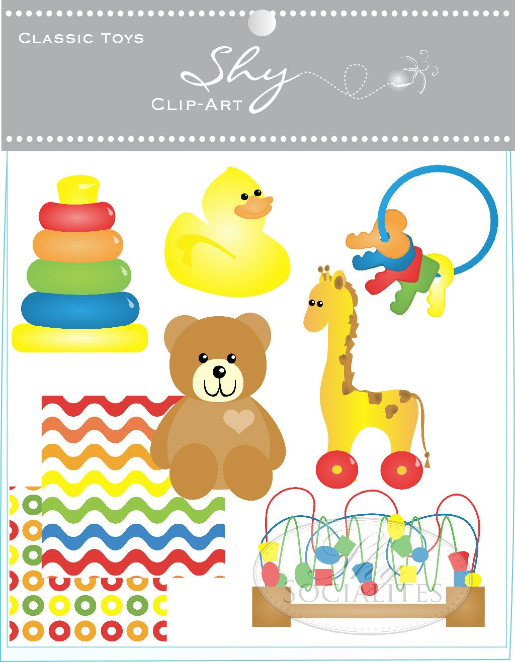Nursery Toys Clipart Images & Pictures - Becuo