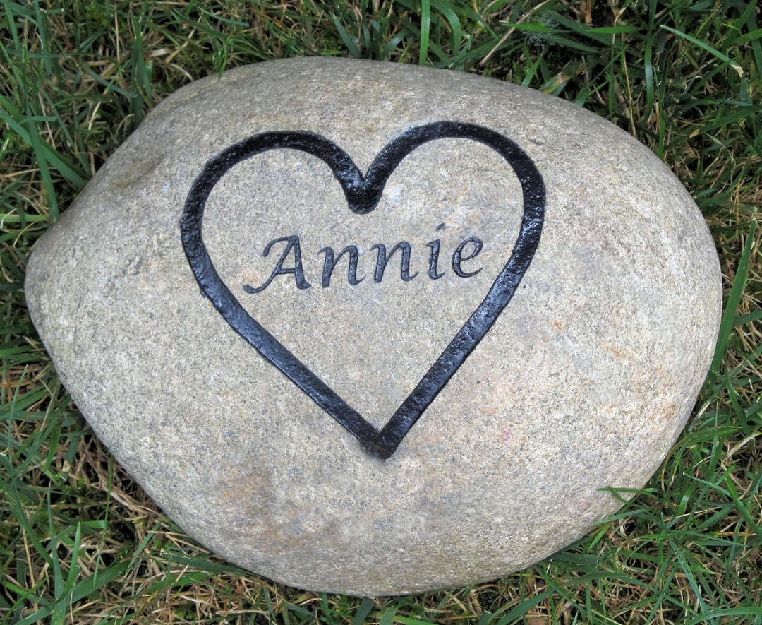 Personalized Pet Memorial Garden Stones Dogs By Mainlinedesigns